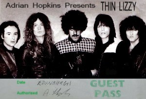 Thin Lizzy Pass...